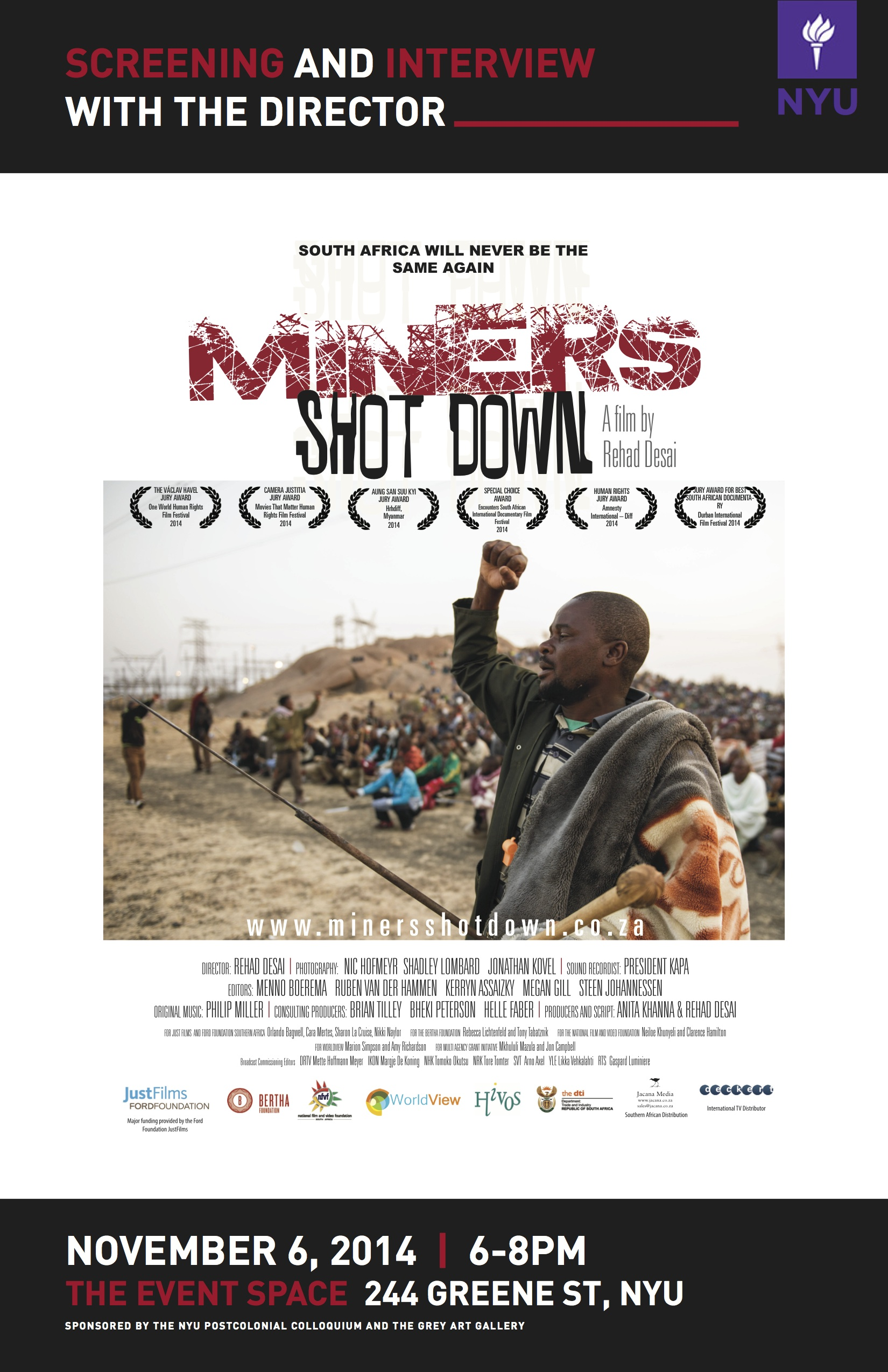MinersShotDown Screening