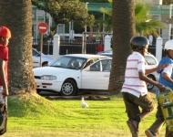 Skateboarders, Sea Point